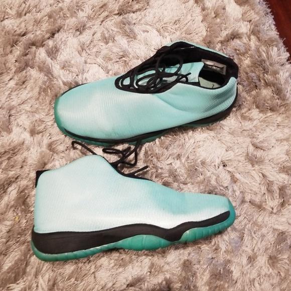 Mint Green Jordans